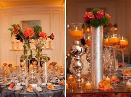 California Wedding Reception Fall Inspired Colors Decor