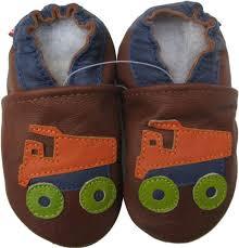 100 Kids Dump Truck Carozoo Dump Truck Brown 34y Soft Sole Leather Kids Shoes