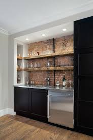 Wall Bar Shelves Home Designs Rustic With Reclaimed