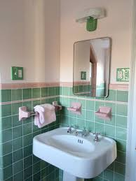 Tiffany Blue And Brown Bathroom Accessories by 30 Magnificent Ideas And Pictures Of 1950s Bathroom Tiles Designs