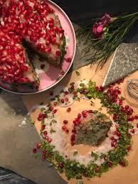 pistazien granatapfel kuchen das große carolinarikum