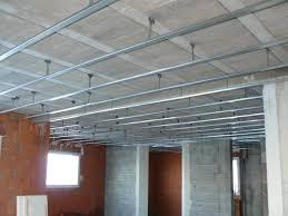rail pour faux plafond isolation idées