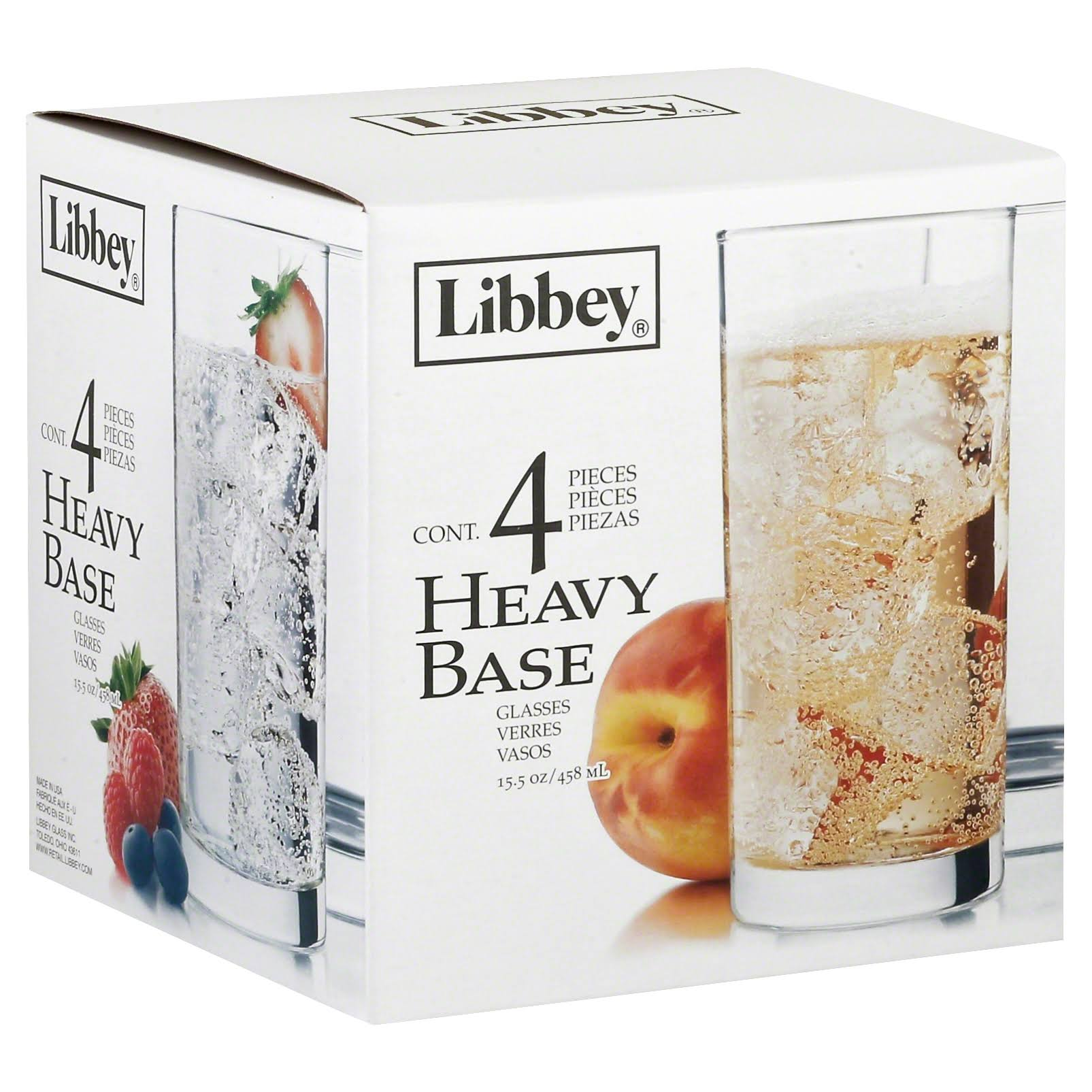 Libbey Cooler Glass - Clear