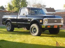 1972 Chevy K10 Truck 4x4
