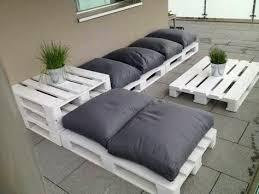 canap salon de jardin salon de jardin en palette canape palette meubles de jardin design