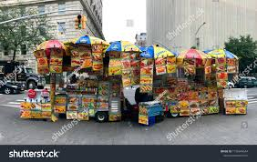 100 New York City Food Trucks Vendors Stock Photo Edit Now 1196949544