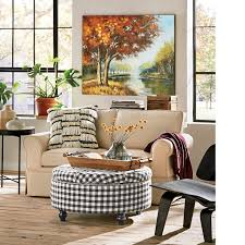 100 England Furniture Accent Chairs.html Black Check Storage Ottoman Country Door
