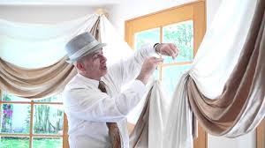 Kitchen Curtain Ideas For Bay Window by Curtain Scrolls For Bay Windows Elegant Window Treatment Idea