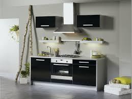 meuble de cuisine noir meuble cuisine laqué inspirant meuble cuisine noir laqu cuisine bois