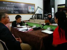 pia bureau pia pbs launch osor ka ranao radio program lanao sur in focus