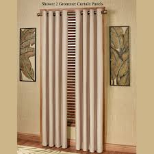 paramount solid color thermal grommet curtain panels