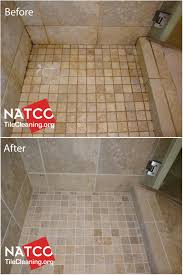 cleaning colorsealing regrouting a shower with moldy grout