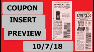 Coupon Insert Preview- 10/7/18- RetailMeNot And Smartsource ...