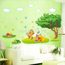 3D Wall Sticker Cartoon Animal Kids Room Stickers Wallpaper For House Decor PVC Decoration W015 Free Shipping In From Home Garden