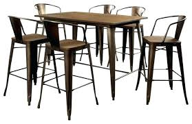 5 Piece Oval Dining Room Sets by Bar Stool Oval Dining Room Sets Counter Height Pub Table Bar