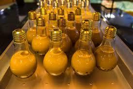 light bulb milk tea foodamentals food that makes me want to