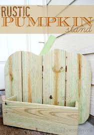 Rustic Pumpkin Stand The Home Depot Do It Herself Workshop
