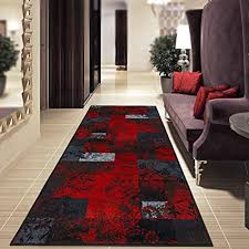 teppich läufer auf maß maraba moderner wohnteppich für flur küche schlafzimmer meterware viele größen rutschfest robust pflegeleicht 80 x