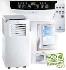 details zu mobile klimaanlage klimagerät 7000 btu inkl 2 x fensteranschluss schlafzimmer