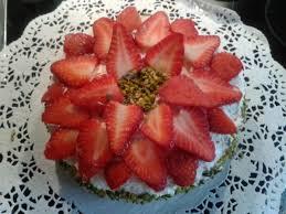 erdbeer vanille torte