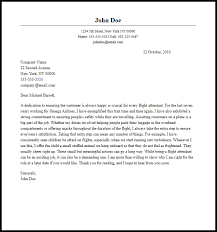 Professional Flight Attendant Cover Letter Sample & Writing Guide