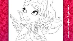 Faybelle Thorn Face Coloring Page