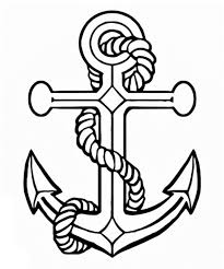 Anchor Coloring Pages Printable Sketch Page