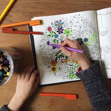 Secret Garden An Intricate Colouring Book Babyccino Kids Daily Tips Childrens Products Craft Ideas Recipes More