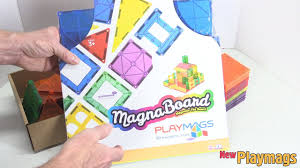 Picasso Magnetic Tiles Vs Magna Tiles by Review Of The New Magna Board By Playmags With Supermags Youtube