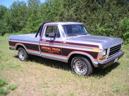 Automotive History: 1979 Ford Indianapolis Speedway Official Truck ... 1980s Ford Trucks Lovely 1985 F 150 44 Maintenance Restoration Of L Series Wikipedia Red Ford F150 1980 Ray Pinterest Trucks And Cars American History First Pickup Truck In America Cj Pony Parts Compact Pickup Truck Segment Has Been Displaced By Larger Hemmings Find Of The Day 1987 F250 Bigfoot Cr Daily Fseries Eighth Generation 1984 An Exhaustive List Body Style Ferences Motor Company Timeline Fordcom 4wheeler Sales Brochure