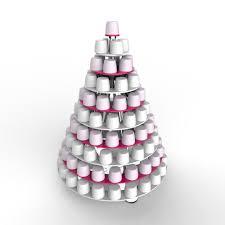Ferrero Rocher Christmas Tree Stand by 10 Tier Professional Black Acrylic Ferrero Rocher Marshmallow