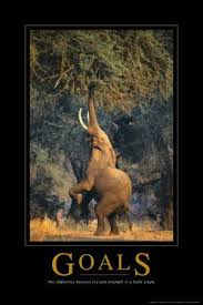 Goals The Difference Between Try And Triumph Is A Little Umph 24 In Buy This Elephant Motivational Poster