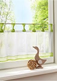 kurzstore tini schlaufen grün wohnen gardinen cortinas