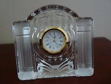mikasa quartz battery powered desk mantel shelf clocks ebay