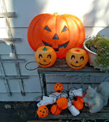 Halloween Blow Molds 2015 by Old Glory Cottage My Weekend Finds