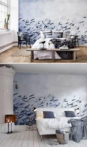 scandinavian light tapete schlafzimmer schlafzimmer