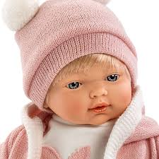 Dolls World Baby BooHoo Pink Argosy Toys