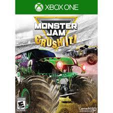 100 Monster Trucks Games Jam Crush It Xbox One GameStop
