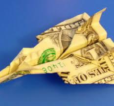 Dollar Bill Paper Fighter Jet