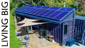 100 Cargo Container Home 40ft Shipping S Transformed Into Amazing OffGrid Family