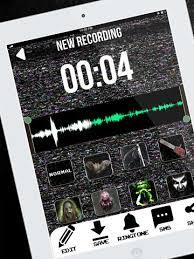 Best Halloween Voice Changer by Scary Voice Changer Ringtone Maker U2013 Best Horror Sounds Modifier