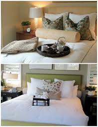 Rolled Pillows Add A Short Or Long Pillow In The Very Back Look Close Front Photo Below From House Beautiful Shows How They Can