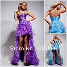 light purple high low prom dresses naf dresses