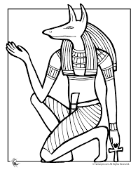 Crayola Coloring Pages Egypt Free Egyptian Gods Dzrleather Picture