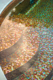 Glow In The Dark Mosaic Pool Tiles by Custom Swimming Pool By Cipriano Landscape Design Beyond Amazing