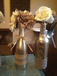 Amazing DIY Wine Bottle Wedding Centerpieces 1000 Ideas About On Pinterest