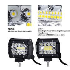 Buy Now 10X 4inch LED Work Light Spot Flood Tri Row Offroad 4WD ... 12v 18w 6led Waterproof Led Headlights Flood Work Light Motorcycle 4pcs 4inch Work Light Bar Driving Flood Beam Suv Atv Jeep New 4inch 57w Lights Offroad Led Bar Trucks Boat 4x4 4wd Atv Uaz Suv Driving 2pcs 18w Flood Beam Led Work Light 12v 24v Offroad Fog Lamp Trucks Truck Lite Spot With Ingrated Mount 81711 Trucklite 50 Inch 250w Spotflood Combo 21400 Lumens Cree Signalstat Stud Mount Oval Lot Two Mini 27w 9 Worklights Fog For Tractor Xrll 27w Forklift Square Cube Pods Flush