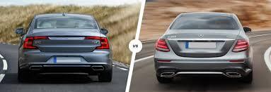 mercedes e class range volvo s90 vs mercedes e class comparison carwow