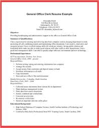 Clerical Resume Template Administrative Sample