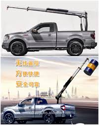 0.8 Ton Electric Hydraulic Folding Booms Pickup Truck With Crane ...